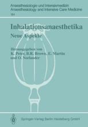 Inhalationsanaesthetika