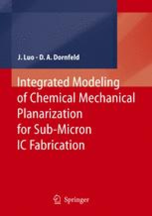 Integrated Modeling of Chemical Mechanical Planarization for Sub-Micron IC Fabrication