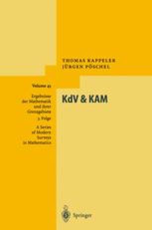 KdV & KAM