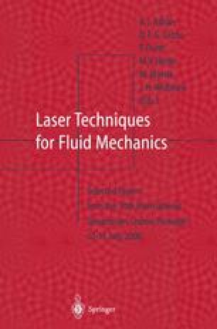 Laser Techniques for Fluid Mechanics
