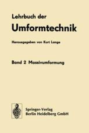 Lehrbuch der Umformtechnik