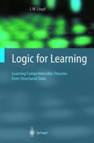 Logic for Learning