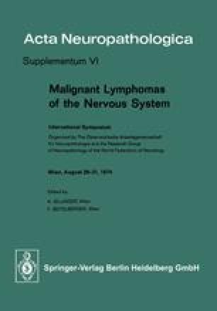 Malignant Lymphomas of the Nervous System
