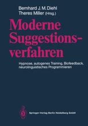 Moderne Suggestionsverfahren