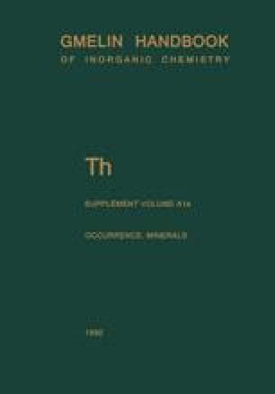 Th Thorium