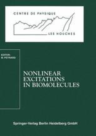 Nonlinear Excitations in Biomolecules
