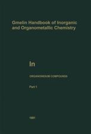 In Organoindium Compounds
