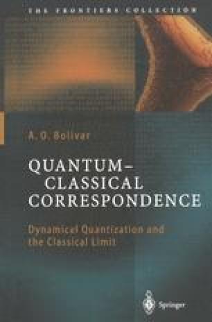 Quantum-Classical Correspondence