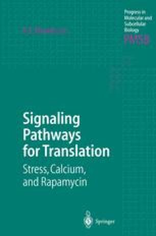 Signaling Pathways for Translation