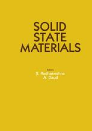 Solid State Materials