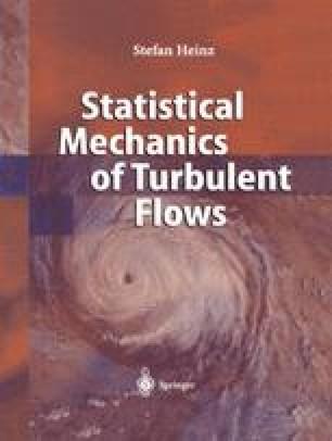 Statistical Mechanics of Turbulent Flows