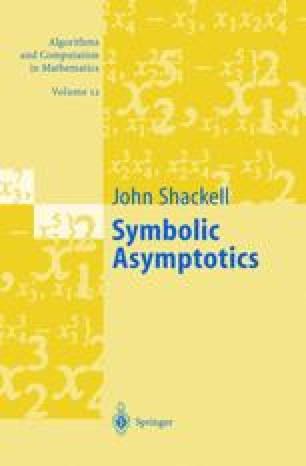 Symbolic Asymptotics