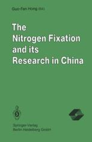 The Nitrogen Fixation and its Research in China