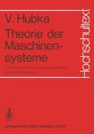 Theorie der Maschinensysteme