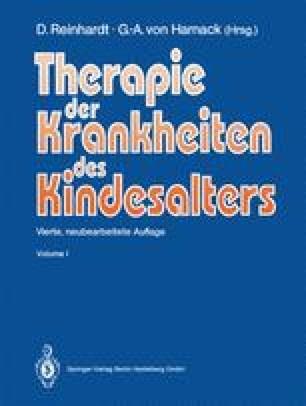 Therapie der Krankheiten des Kindesalters