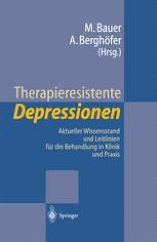 Therapieresistente Depressionen