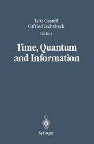Time, Quantum and Information