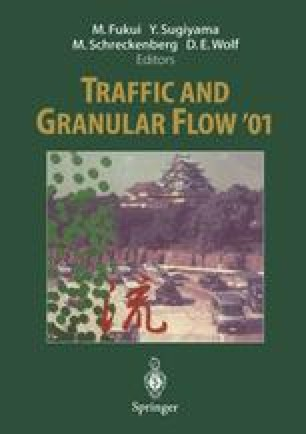 Traffic and Granular Flow'01