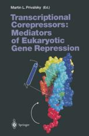 Transcriptional Corepressors: Mediators of Eukaryotic Gene Repression