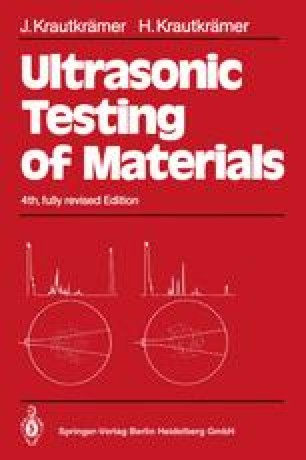 Ultrasonic Testing of Materials
