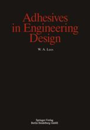 Adhesives in Engineering Design