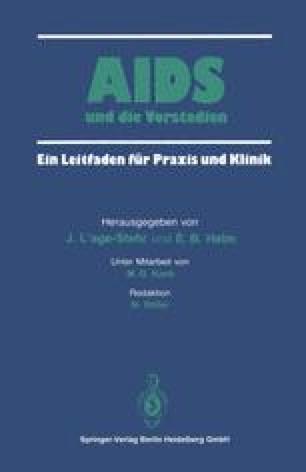 AIDS und die Vorstadien