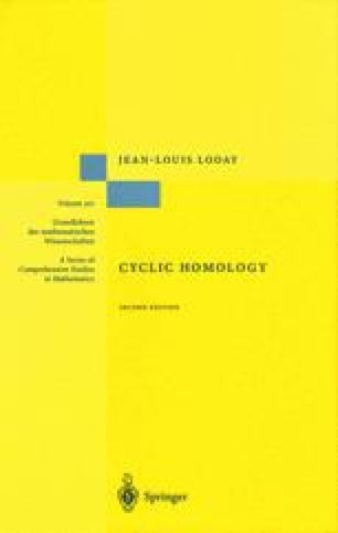 Cyclic Homology