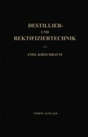 Destillier- und Rektifiziertechnik