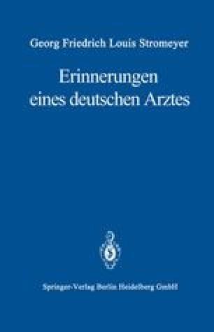 Erinnerungen eines deutschen Arztes
