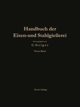 Handbuch der Eisen- und Stahlgießerei