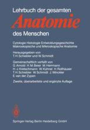 Lehrbuch der gesamten Anatomie des Menschen