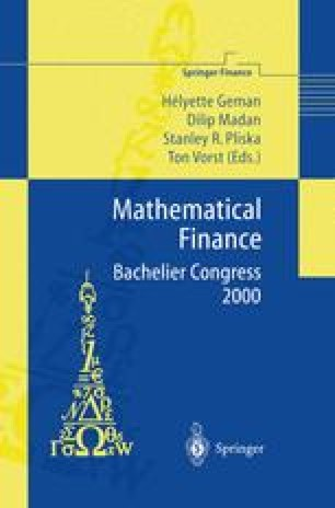 Mathematical Finance — Bachelier Congress 2000