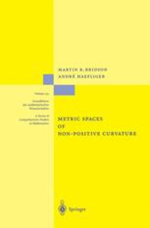 Metric Spaces of Non-Positive Curvature
