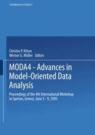 MODA4 — Advances in Model-Oriented Data Analysis