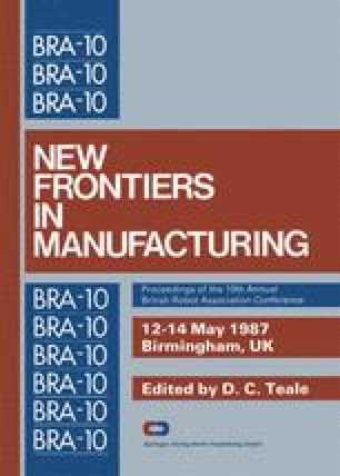 New Frontiers in Manufacturing