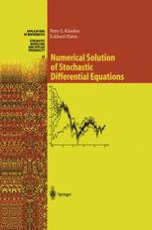 Applications of Stochastic Differential Equations | SpringerLink