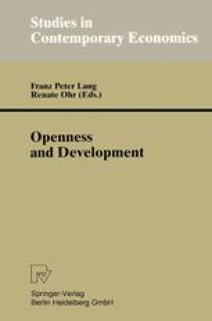 Openness and Development