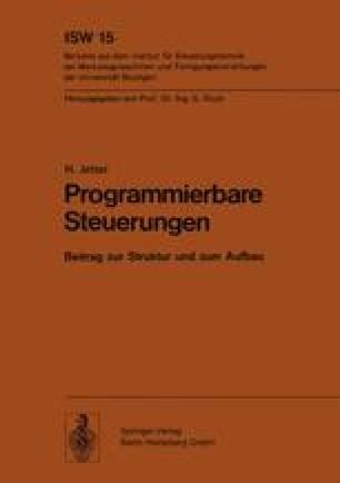 Programmierbare Steuerungen