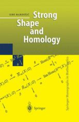 Strong Shape and Homology