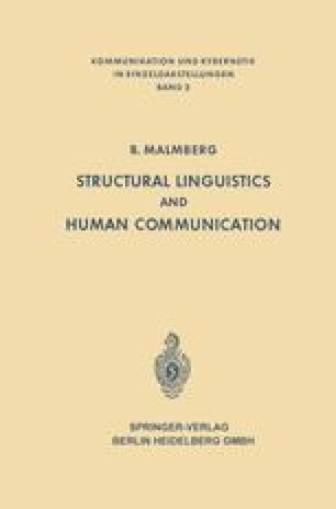 Structural Linguistics and Human Communication