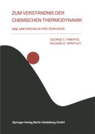 Zum Verständnis der Chemischen Thermodynamik