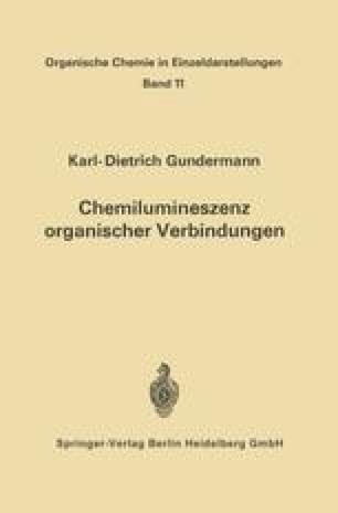 Chemilumineszenz organischer Verbindungen