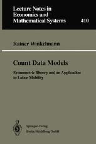 Count Data Models