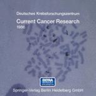 Current Cancer Research 1986