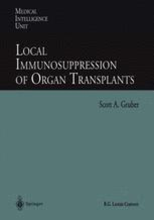 Local Immunosuppression of Organ Transplants