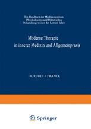 Moderne Therapie in Innerer Medizin und Allgemeinpraxis