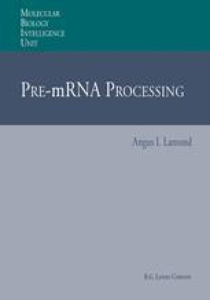 Pre-mRNA Processing