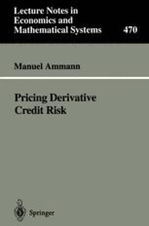 Pricing Derivative Credit Risk