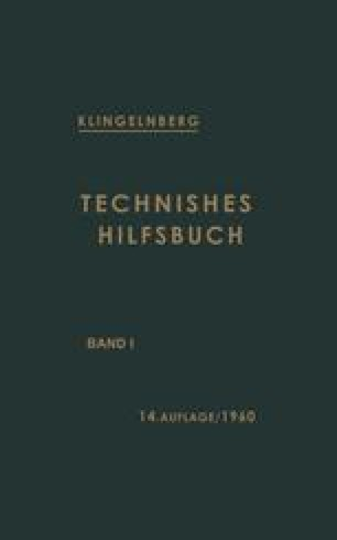Technisches Hilfsbuch