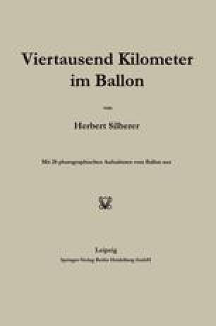 Viertausend Kilometer im Ballon